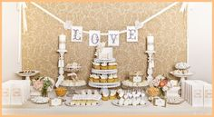 another dessert table