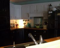 Another example of what my cabinets would look like with BB countertops.