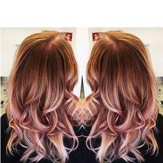 H A I R G A S M  #rosegold #rosegoldhair #baliage #balyage #hairinspiration #blonde #blondehair #ombre #ombredhair #springhair #summerhair#winterhair #fallhair #hotseat #hotseatgirl #hotseatsalon #hotseatstylist #sandiego #sandiegohair #sandiegistylist #whowantsthis #bookwithmetoday #springspecials