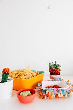 DIY Fiesta Chip + Dip Bowl
