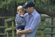 The Duke and Duchess of Cambridge out with their children at Houghton Hall Horse Trials.