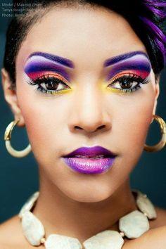 Awesome makeup for darker skin tone Love Makeup, Makeup Art, Makeup Tips, Beauty Makeup, Makeup Looks, Hair Beauty, Makeup Ideas, Awesome Makeup, Beauty Stuff