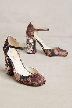 Bettye Muller Bejeweled Ankle Strap Heels