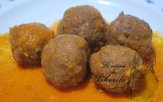 Homemade meatballs - Albóndigas caseras - Pikerita's way