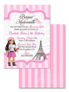 123 best children birthday party invitation designs images on american girl birthday party invitation child party ideas children party themes children filmwisefo