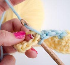 changer de couleur quand on fait du crochet