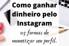 Como ganhar dinheiro pelo Instagram? Bio Do Instagram, Taylor Swift, Ideas Para, Pasta, Frases, Words, Instagram Ideas, Social Media Marketing, Cute Pics