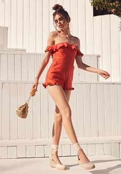 ShopStyle: Shop the Look from arso Girl Fashion, Fashion Looks, Fashion Outfits, Hot Outfits, Summer Outfits, Casual Outfits, Summer Clothes, Girl Outfits, Le Jolie