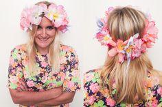 La gorra con flores es el accesorio IT de la primavera! #BeautyHair