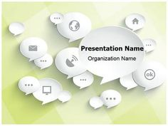 218 best computer and networking powerpoint templates images on