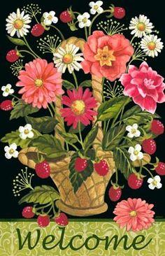 "I ❤️ Pinterest ""Garden Basket-Vert"" By Jennifer Brinley."