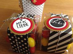 Verpackung, EM 2016, schwarz rot Gold, Süßigkeiten, liebevolle Verpackung
