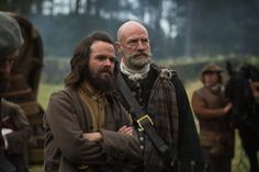 Stephen Walters as Angus Mhor and Graham McTavish as Dougal MacKenzie - two of the best actors on the show, imo...they really bring these characters to life.  And Angus is just so much fun to watch!  #Outlander