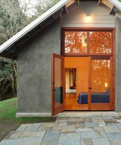 This straw bale cottage was built in poland by paulina of for Straw bale house cost calculator