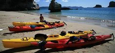 Cathedral Cove Kayak Tours offer some of the best sea-kayaking available in New Zealand! Half and full day tours to give you the opportunity to appreciate this coastline in the best possible way. Marine Reserves, Kayak Tours, Kayaking, New Zealand, Cathedral, Sea Kayak, Boat, Explore, Activities