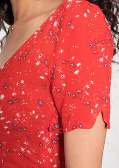 & Other Stories image 4 of Palm Breeze Print Sundress in Red Palm Breeze Print