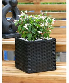 Appotment Garden Decoration - 30cm - rattan effect
