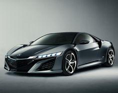 Acura NSX Hybrid Concept Car   A Supercar Worthy Of Tony Stark