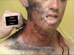 Gel-10 Makeup: Stuart Bray's Burn Process Part 1