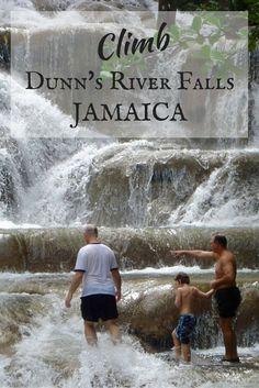 Backroad Planet | Retro Roadtrip: Jamaica's Dunn's River Falls | http://backroadplanet.com