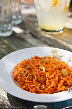 Cashew Carrot Salad  -- I haven't tried yet, but it looks good.