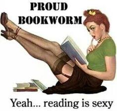 Proud bookworm