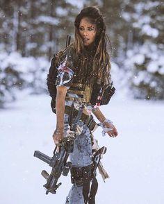 Weapons and sexy girls Badass Women, Sexy Women, Female Soldier, Warrior Girl, Military Women, Big Guns, Mad Max, My Girl, Weapons
