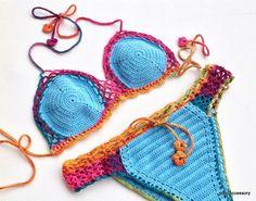 2015 Swimwear Crochet Bikini Trends
