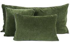 8 coloris disponibles - Harmony - Housse de coussin en velours Delhi - 45x45 cm - Home Beddings and Curtains
