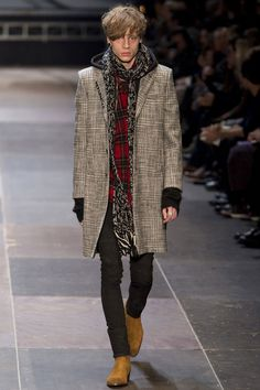 COUTE QUE COUTE: SAINT LAURENT AUTUMN/WINTER 2013/14 MEN'S COLLECTION