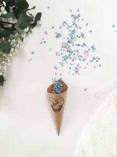 faire des confettis DIY pour un mariage - Marie Claire Idées