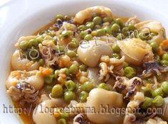 Fish Dishes, Seafood Dishes, Fish And Seafood, Great Recipes, Healthy Recipes, Calamari, Antipasto, Italian Recipes, Food To Make