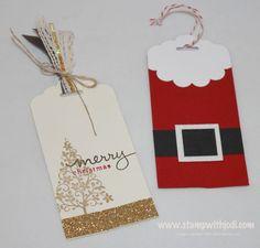 Quick & Creative Christmas tags!