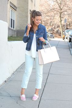 Casual Friday Wear Loft Marissa Crops