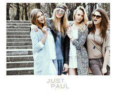 photo : Dorota Porębska models: Ludwika Cichecka / Uncover models, Marta Rybak, Malgosia Guzowska / Mango Models, Killa Rioja. JUST PAUL #campaign #ss #2014 #justpaul