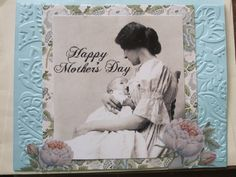 Vintage Mother's Day Greeting Card  www.caguimbalcreations.weebly.com