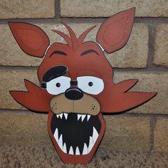 Five 5 Nights At Freddy's Super Big Foxy 3D by ConnieHertzCraftz