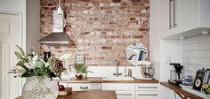 Decorare casa con i mattoni a vista | Donna Moderna