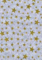wax paper basket liners with stars | WAX PAPER,GOLD STARS