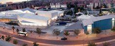 Este es el Museo de la Ciencia en Granada.Es una etapa muy visitada.Contiene 5.000 metros cuadrados de exposiciones temporales, el planetario digital, la galería culturales, biblioteca y el cine
