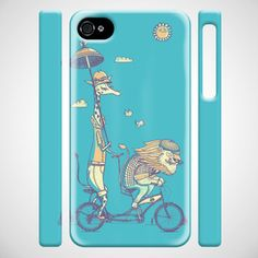 Fuzzy Ink: Bike Built For Love iPhone Case now featured on Fab.