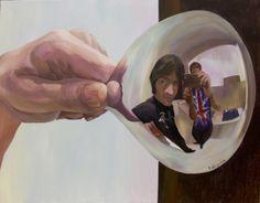 Deformación III Técnica: Acrílico sobre lienzo Medidas: 146 x 114 cm. Año: 2010