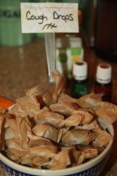 Thieves and lemon oil cough drops http://mamasessentialoilcabinet.com/2013/12/06/homemade-honey-thieves-lemon-cough-drop-recipe/