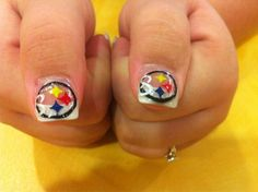 My Steelers nails