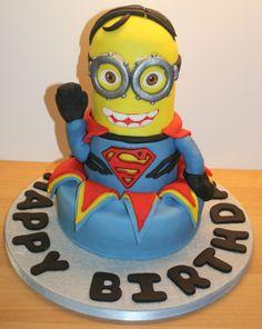 Super minion cake