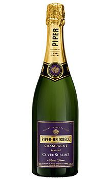 Piper-Heidsieck Cuvée Sublime Champagne, $85.00 #champagne #gifts #1877spirits