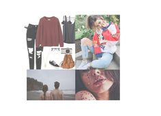 """Anyone wanna hang out? {Harley}"" by boy-and-girl-anons ❤ liked on Polyvore featuring Calvin Klein Underwear, Kavu, Toast, Vans, Yves Saint Laurent, Leica and Estella Bartlett"