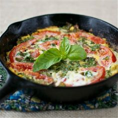 Easy BLT Frittata  @عبدالعزيز الجسار Bukhamseen Chick Cooks - sub out milk to coconut milk