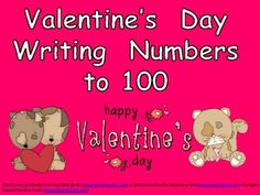 FREE!!!  Six different 100s charts with a Valentine's Day theme to practice writing numbers to 100!!