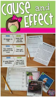 Make teaching and learning cause and effect fun! Includes photo hunt activities, puzzles, and printable assessments for students in grade 2 and grade 3.